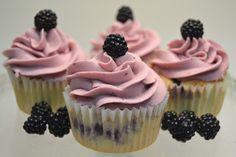 cupcakes | Cupcakes de mora, si, si, de morirse de lo bueno que están!!!