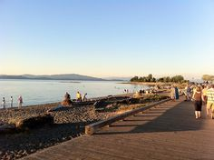 Parksville Beach by Parksville and Qualicum Beach, via Flickr (Vancouver Island, BC).