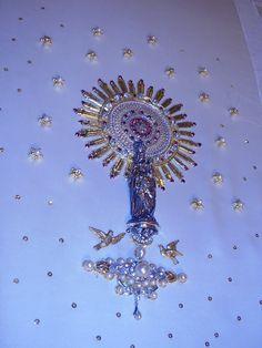 Detalle Virgen del Pilar