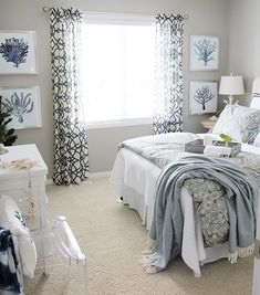 Whether your home is a small country cottage or you just want it to feel like one, enjoy a cozy bedroom retreat when you mix calming pastels, pretty florals, and vintage accessories. No matter your preference, this bedroom style idea will definitely help you decorate your bedroom with flair.