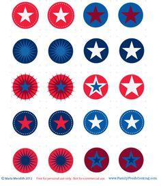 *FREEBIE* Americana Printables | MarlaMeridith.com