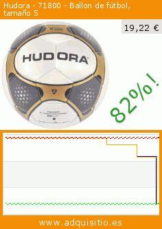 Hudora - 71800 - Ballon de fútbol, tamaño 5 (Deportes). Baja 82%! Precio actual 19,22 €, el precio anterior fue de 106,97 €. https://www.adquisitio.es/hudora/bicicleta-sin-pedales-1