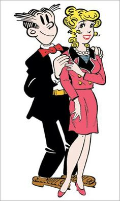 comics Adult dagwood blondie and