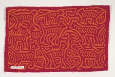 shirt panel (mola) | Indianapolis Museum of Art