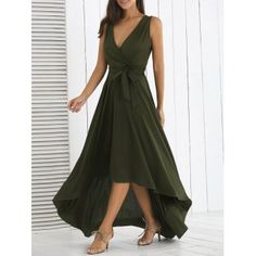 SHARE & Get it FREE | Taille haute Irregular Maxi DressFor Fashion Lovers only:80,000+ Items·FREE SHIPPING Join Dresslily: Get YOUR $50 NOW!