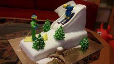 Domácí narozeninový dort od cukrářek z cukrárny Moje cukrářství Spongebob, Birthday Cake, Desserts, Food, Tailgate Desserts, Deserts, Sponge Bob, Birthday Cakes, Essen