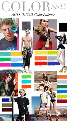 TREND COUNCIL S/S 2015- ACTIVE COLORS