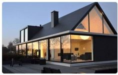 HofmanDujardin is an architecture firm founded in 1999 and located in Amsterdam. The team is specialized in architecture, renovations and interior designs. Modern Barn, Modern Farmhouse, Residential Architecture, Modern Architecture, Garden Architecture, Future House, My House, House Wall, Modern House Design