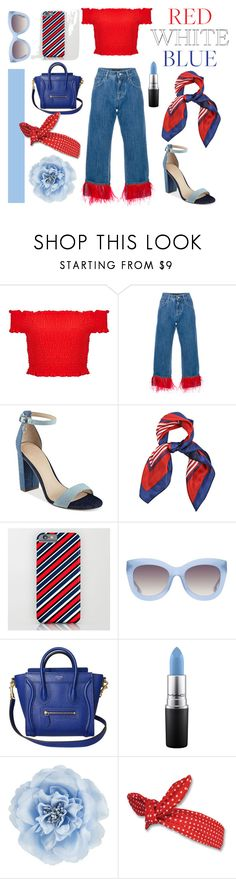 """JULY HIGHLIGHTS"" by allygatorforever ❤ liked on Polyvore featuring Miss Selfridge, Dolce&Gabbana, GUESS, Alice + Olivia, MAC Cosmetics and Monsoon"