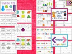 Ten 5th Grade Math Test Prep Stations $