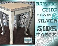 Small UpCycled Rustic Glam  or Shabby Chic by stuartchristopher, $74.00