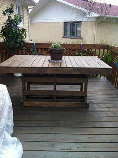 Hoe houten tafel maken