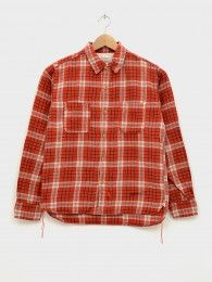 Original Plaid Flannel Shirt Red | Front