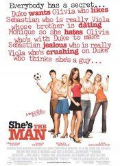 She's the Man movie poster I used to think this was the coolest poster and I just don't know why...