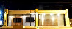 Ilumiación de fachada de vivienda unifamiliar