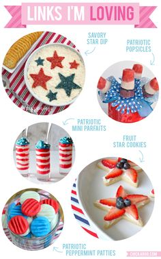 Patriotic party food!!!