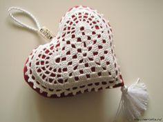 Текстильные сердечки. Большая коллекция очень красивых валентинок (56) (700x525, 172Kb)