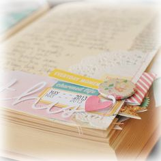 more happy little moments ~ first pages by jgirl at Studio Calico