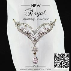 Be elegant, Be Royal.  shop our royal diamond jewellery collection from  www.vardhamangems.com/pendants