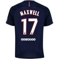psg jersey 2016 17 season home soccer shirt 17 maxwell