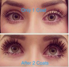 This mascara is the absolute bomb💣💣💣 Just check out the results below👇👇👇 👁️Lengthen and define your lashes 👁️Gives appearance of length and definition. Curling Mascara, Smudging, Curls, Lashes, Conditioner, Nu Skin, Skin Care, Separate, Makeup