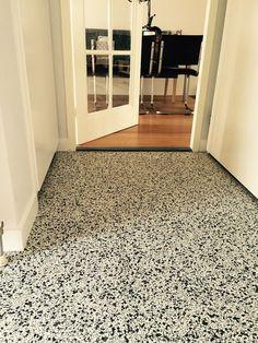 View our beautiful floor and wall tiles range. Terrazzo Flooring, Concrete Floors, Vinyl Flooring, Kitchen Flooring, Tile Design, 1930s House, Home Deco, Interior Inspiration, New Homes