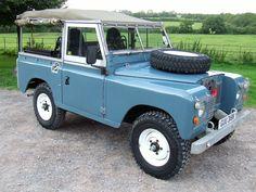 "'Winston' -1974 Series 3 88"" 2.25 Petrol Land Rover"