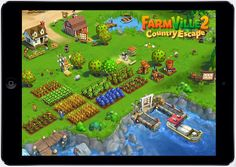 Zynga tries to retake mobile gaming with FarmVille 2: Country Escape