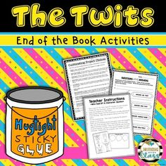 The Twits: End of the Book Reading Response Activities and Projects Reading Response Activities, Activities For Kids, Children's Books, Books To Read, The Twits, Key Stage 1, Roald Dahl, Creative Activities, The Book