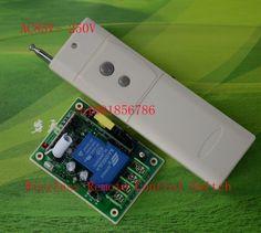 110V RF Wireless Remote Control Switch AC85V-280V 3000W Receiver Transmitter Power Switch 3000M