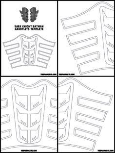 Dark Knight Gauntlets Build Tutorial – The Foam Cave Batman Costumes, Batman Cosplay, Cosplay Armor, Cosplay Diy, Cosplay Costumes, Cosplay Helmet, Diy Costumes, Armadura Medieval, Knight Gauntlet