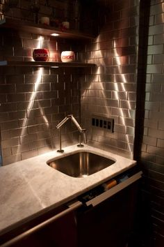 backsplash httpwwwstainlesssteeltilecom
