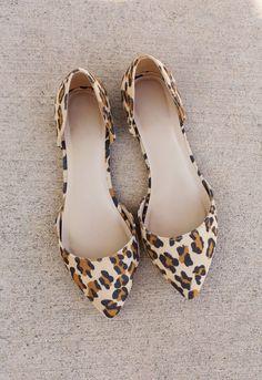 Follow Me Leopard Flats
