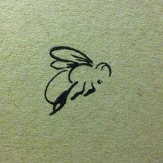 bee drawing sketch ink on Instagram