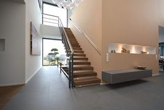 Interieur - Engelshove Home Stairs Design, House Stairs, House Rooms, Bungalow, Koti, Architecture, Houses, Website, Inspiration