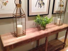 our everett foyer table impresses with a style