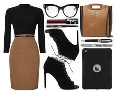 street style by sisaez on Polyvore featuring polyvore, fashion, style, Phase Eight, Yves Saint Laurent, Maje, STELLA McCARTNEY, Montegrappa, NARS Cosmetics, Chanel, Sharpie and clothing
