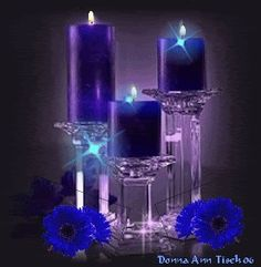 BLUE CANDLE GIF