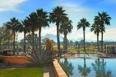 Beautiful mountain views in Solera's active adult community #solera #solerachandler #azmountainviews