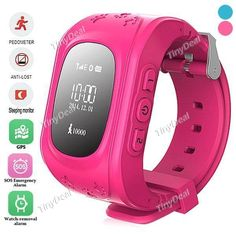 W5 GPS Kid Positioning Smart Watch MTK6261 Core for Android/iOS WWT-384086 - Wholesale Supplier: TinyDeal