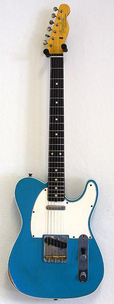 Fender CS 1962 Telecaster Custom Relic Taos Turq