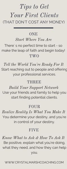 get clients | marketing | tips to get clients | marketing tips | entrepreneur | how to get clients