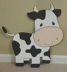 ONE Farm Barnyard animal cutouts Birthday Party Decoration Party Animals, Farm Animal Party, Farm Animal Birthday, Barnyard Party, Barnyard Animals, Farm Birthday, Farm Animal Crafts, Cow Birthday Parties, Birthday Banners