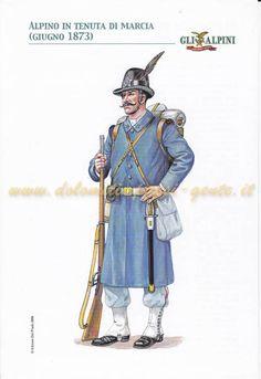 SOLDATINI ALPINO ALPINO IN UNIFORME DA MONTAGNA 1950  DEL PRADO N 38