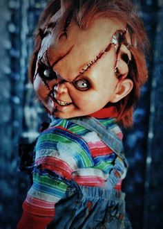 Chucky. Over the shoulder shot lol