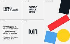 Fonds Mille et UN on Behance Modern Web Design, Creative Web Design, Ui Design, Layout Design, Graphic Design, Fluent Design, Thé Illustration, Identity, Business Proposal