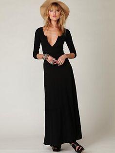 must get a long dress...
