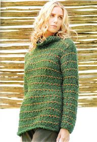 Delicadezas en crochet Gabriela: 38 Prendas tejidas paso a paso Turtle Neck, Pullover, Sweaters, Fashion, Tricot, Knit Wrap, Sweater Knitting Patterns, Sweaters Knitted, Step By Step