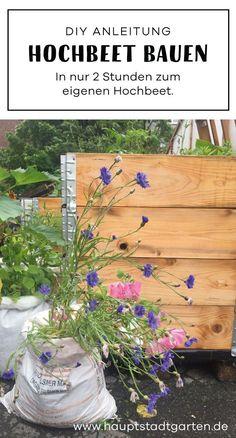 Ein Hochbeet bauen kann ganz einfach sein. Ich zeige dir wie Du in 2 Stunden ein Hochbeet für den Garten selber bauen kannst. Ein grünes DIY mit dem auch Gärtnern mit Kindern Spaß macht.