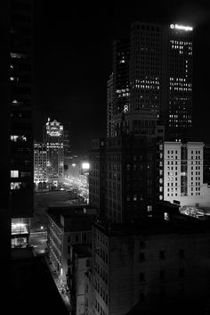 Night, Columbus, OH, March, 2014